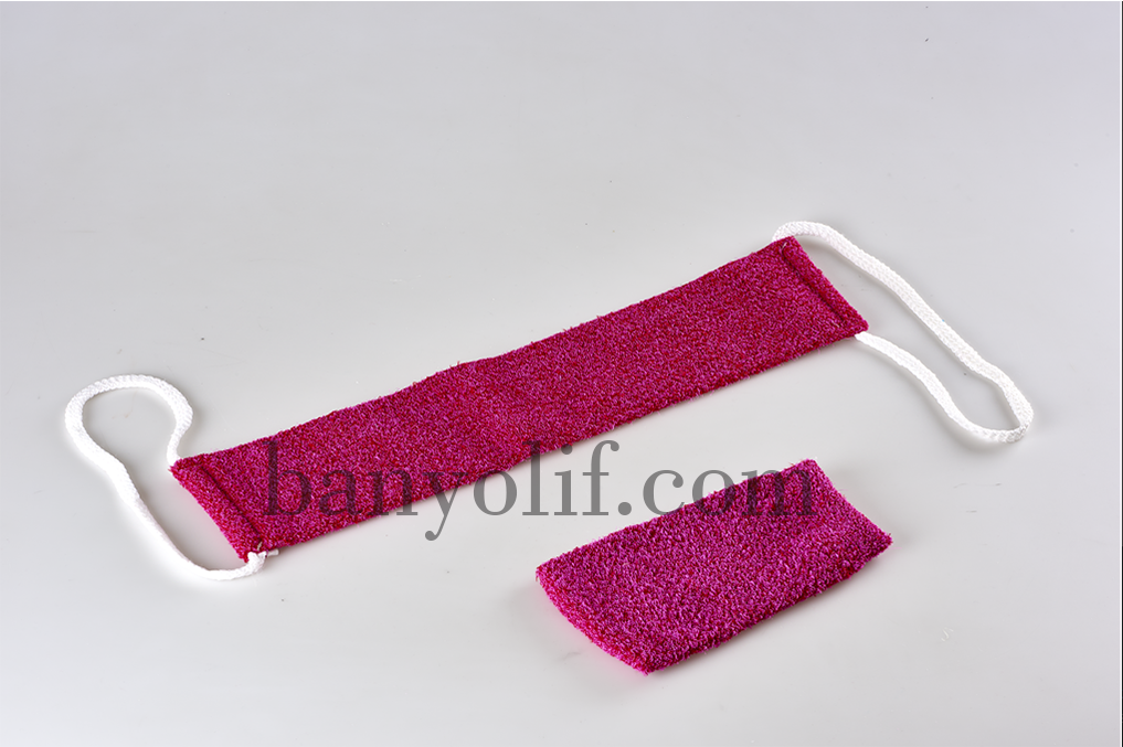 Banyo lifi Polyester Masaj Seti